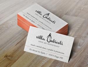 Biglietti da visita Villa Anticoli