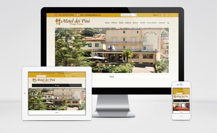 Sito Web Hotel dei Pini