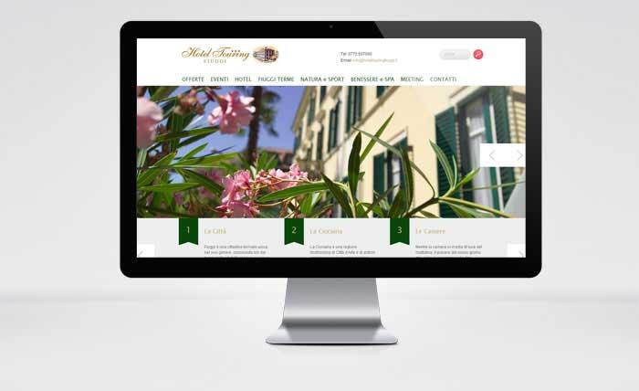 Sito Web Hotel Touring