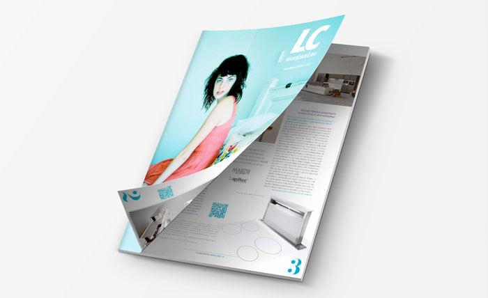 Rivista Aziendale LC Magazine Mobili Calabrese
