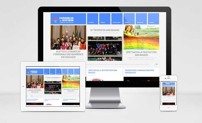 Sito Web Consiglio Giovani Fiuggi