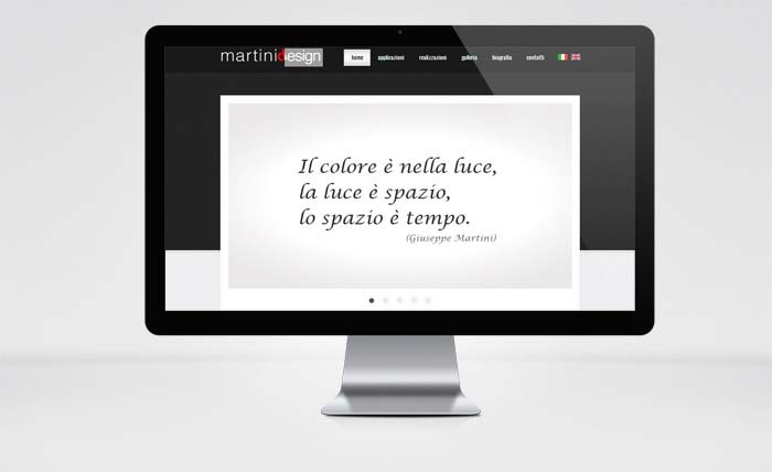 Sito Web Martini Design