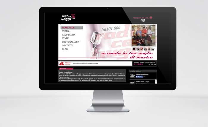 Sito Web Radio Centro Fiuggi