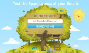 Spam test per email e newsletter