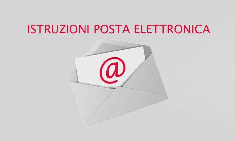 Istruzioni sull'uso e la configurazione della posta elettronica