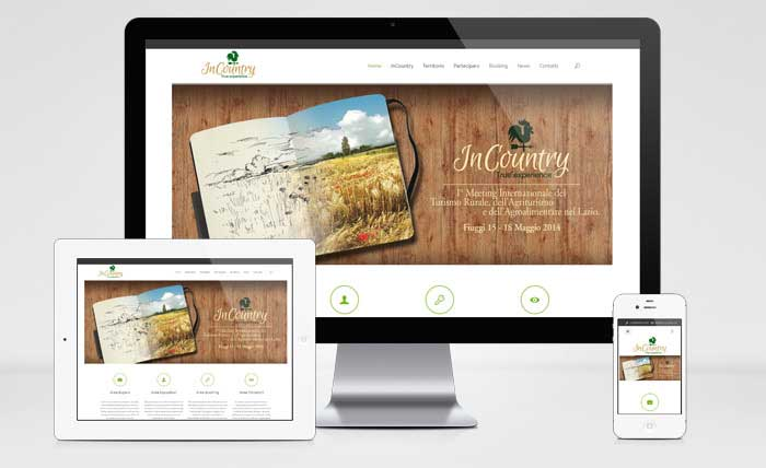 Sito Web Responsive InCountry True Experience