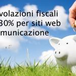 Agevolazioni fiscali per web e comunicazione