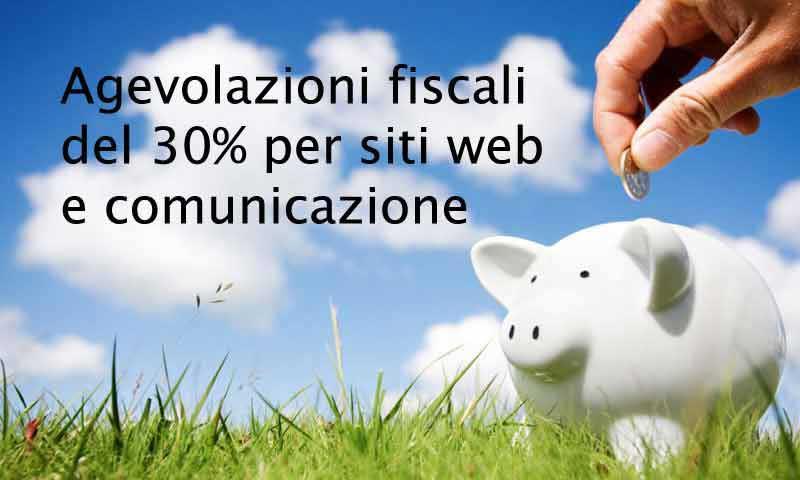 Credito d'imposta per creazione nuovi siti web e servizi di comunicazione digitale