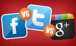 Facebook Google+ Twitter