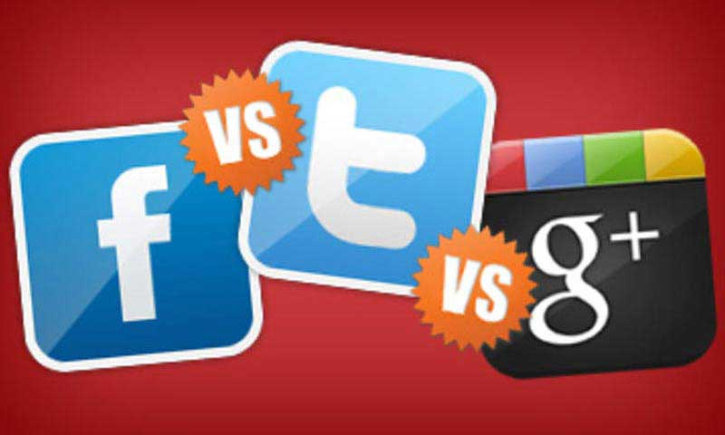 Le differenze tra i social network: Facebook, Twitter e Google+