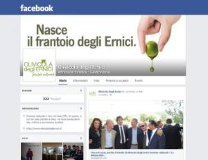 Olivicola degli Ernici Facebook