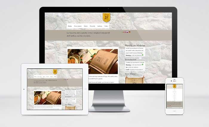 Sito web la Taverna del Castello