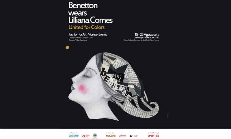 Benetton Fiuggi: Fashion For Art e United For Colors