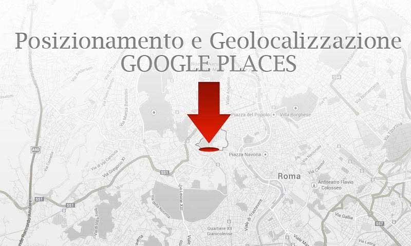 Posizionamento su Google Maps e Google Places