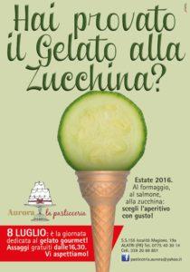 Pasticceria Aurora Gelatoa Zucchina